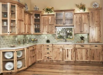 Rustic kitchen cabinet design ideas are very popular this year 43
