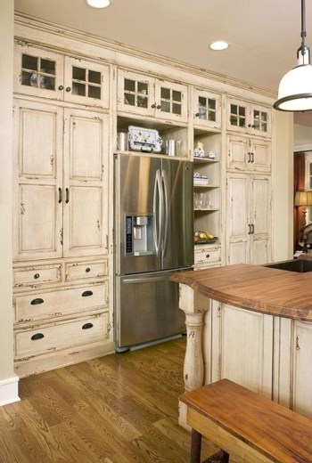 Rustic kitchen cabinet design ideas are very popular this year 53
