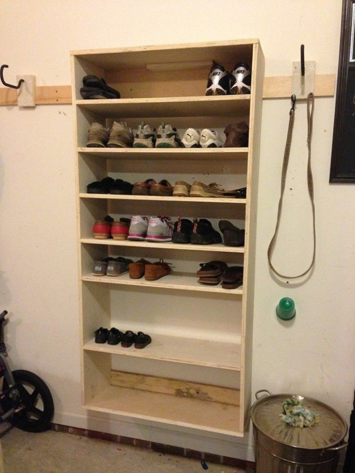 Shoes rack design ideas that many people like 06