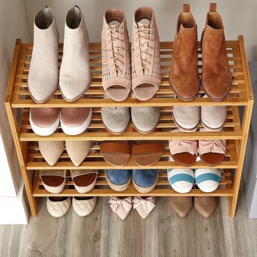 Shoes rack design ideas that many people like 11