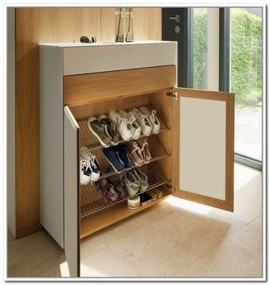 Shoes rack design ideas that many people like 16