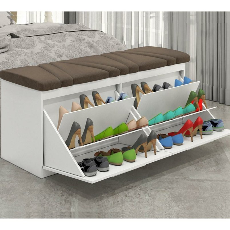 Shoes rack design ideas that many people like 26