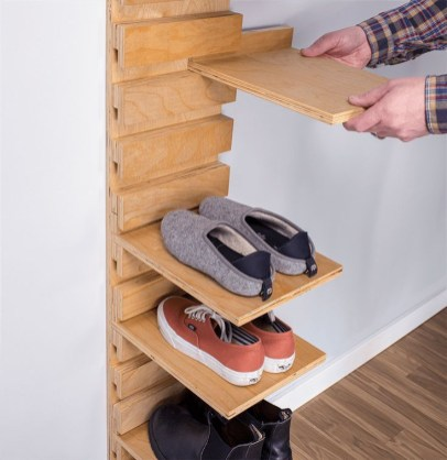 Shoes rack design ideas that many people like 35