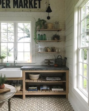 Simple kitchen design ideas that you can try in your home 25