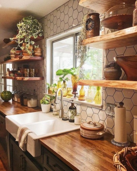 Simple kitchen design ideas that you can try in your home 39