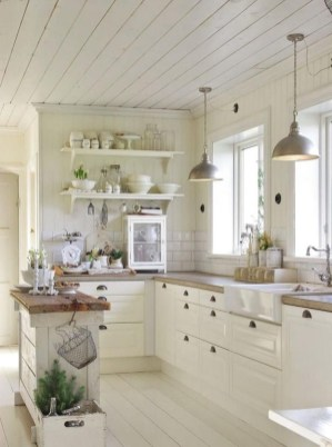 Simple kitchen design ideas that you can try in your home 48
