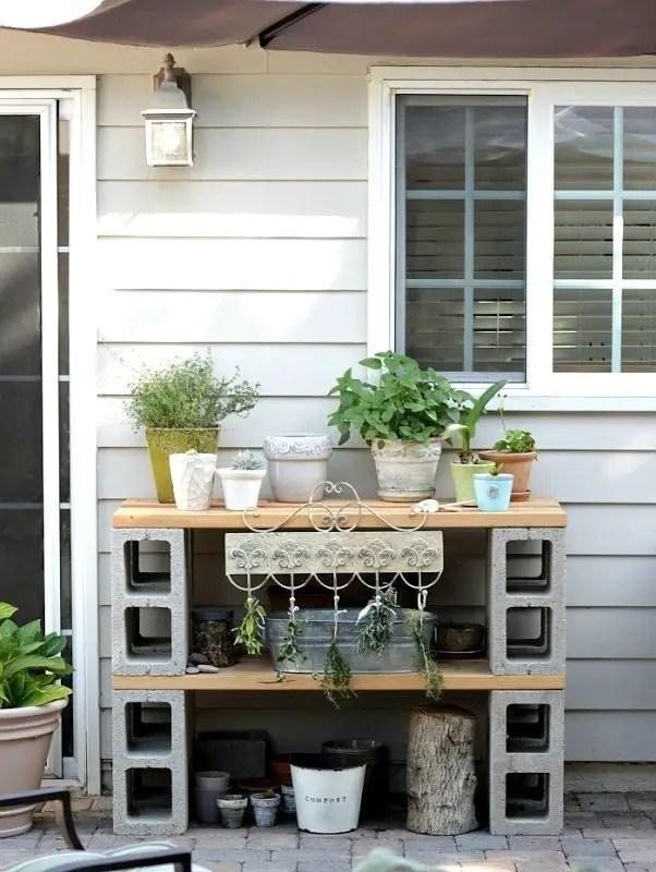 The best cinder block garden design ideas in your frontyard 12