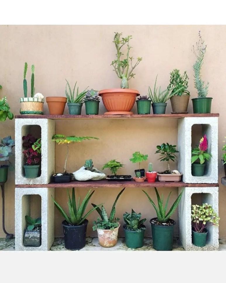 The best cinder block garden design ideas in your frontyard 40