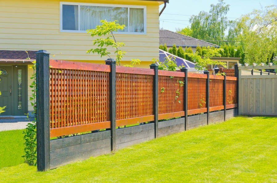 The best fence wooden design that you can try in your home 02