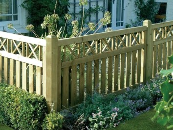 The best fence wooden design that you can try in your home 05