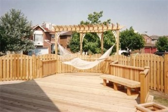 The best fence wooden design that you can try in your home 08