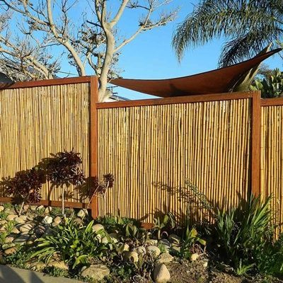 The best fence wooden design that you can try in your home 10