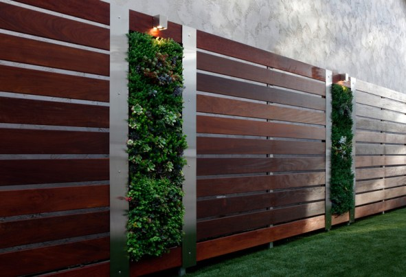 The best fence wooden design that you can try in your home 25