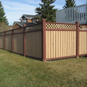 The best fence wooden design that you can try in your home 29