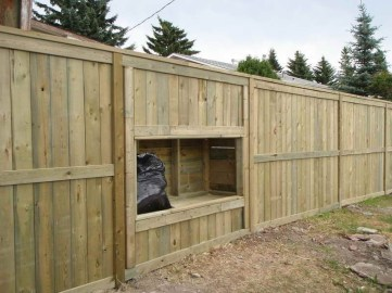 The best fence wooden design that you can try in your home 36