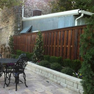 The best fence wooden design that you can try in your home 47