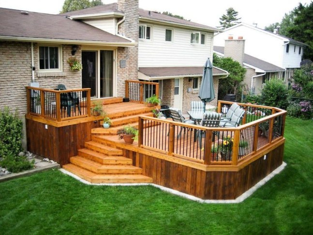 The best fence wooden design that you can try in your home 54