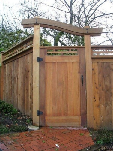 The best gate design ideas that you can copy right now in your home 08