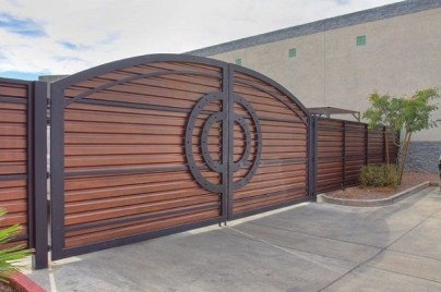 The best gate design ideas that you can copy right now in your home 09