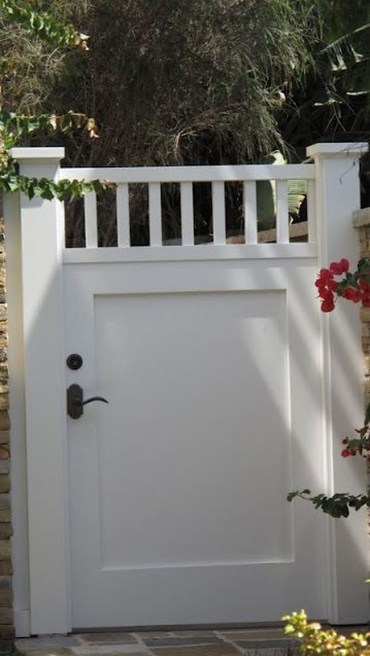 The best gate design ideas that you can copy right now in your home 37