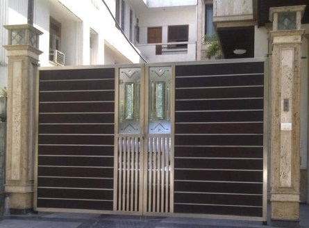 The best gate design ideas that you can copy right now in your home 43