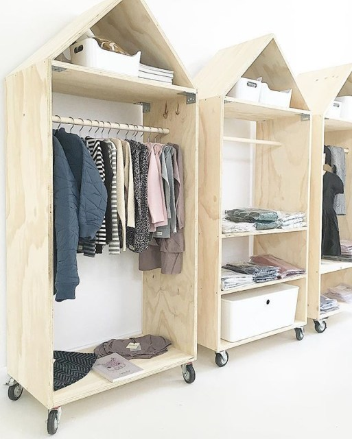 The best diy for wardrobe that you can try 28