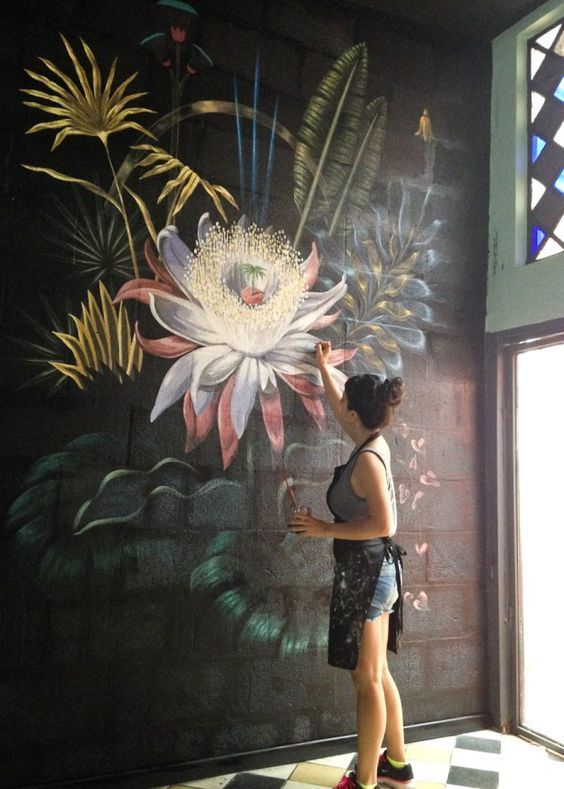 Amazing artistic wall design ideas for simple your home 03