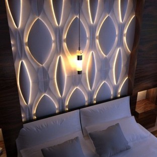 Amazing artistic wall design ideas for simple your home 04