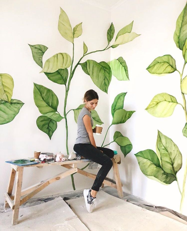 Amazing artistic wall design ideas for simple your home 34