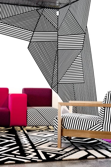Amazing artistic wall design ideas for simple your home 41