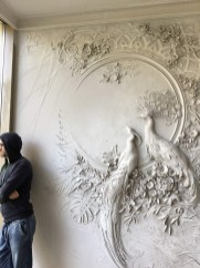 Amazing artistic wall design ideas for simple your home 45