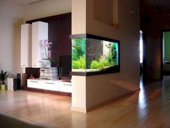 Aquarium design ideas that make your home look beauty 31