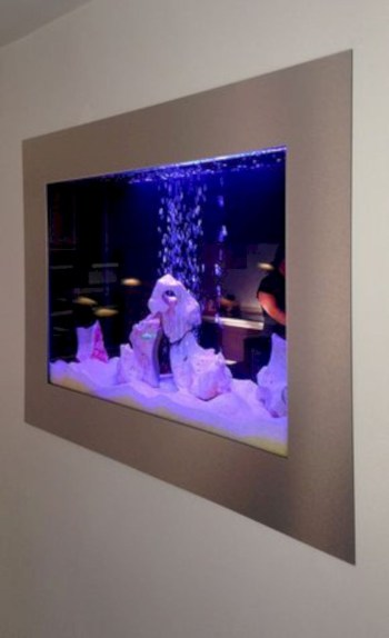 Aquarium design ideas that make your home look beauty 41