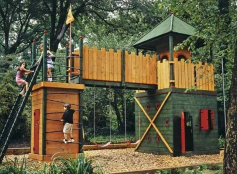 Backyard design ideas for kids 24