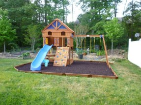 Backyard design ideas for kids 45