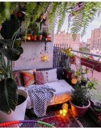 Beauty view design ideas for balcony apartment that make you cozy 09