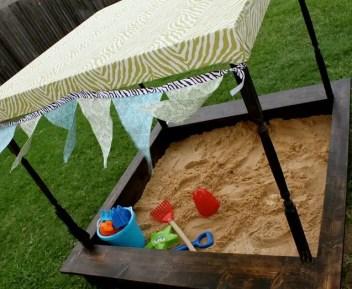 Covered-sandbox