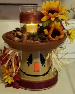 Flower pot decoration ideas that you can try in your home 33
