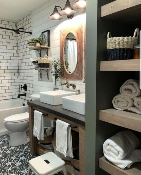 How to store in closet in the bathroom that inspiring 07