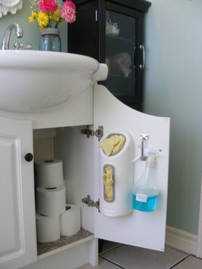 How to store in closet in the bathroom that inspiring 19