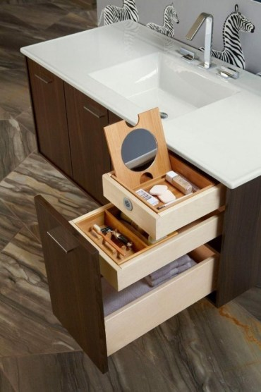 Smart hidden storage solution design that you can try in your home 34