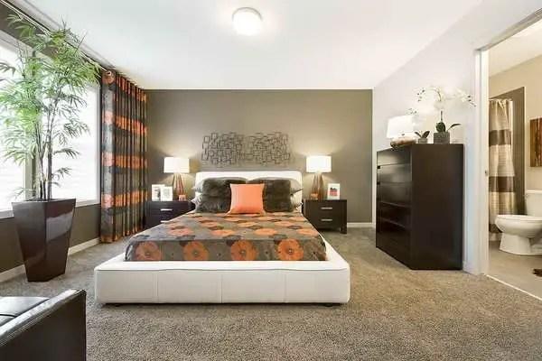The best design of the carpet floor bedroom that inspiring 12