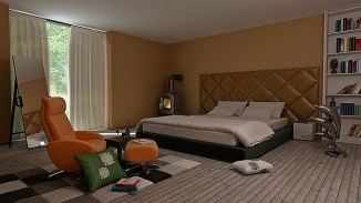 The best design of the carpet floor bedroom that inspiring 22