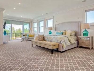The best design of the carpet floor bedroom that inspiring 29