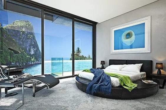 The best design of the carpet floor bedroom that inspiring 33