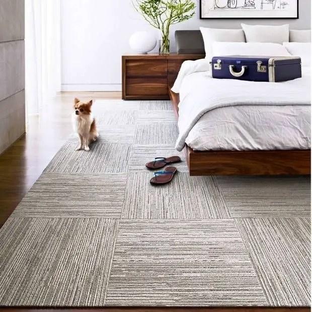 The best design of the carpet floor bedroom that inspiring 41