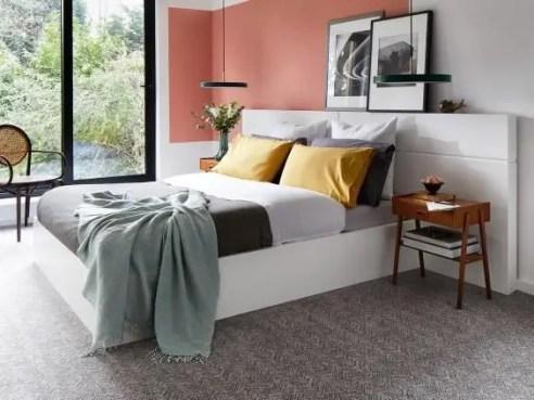 The best design of the carpet floor bedroom that inspiring 47