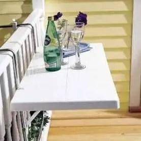 The best mini bar design ideas in balcony apartment 11