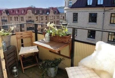 The best mini bar design ideas in balcony apartment 18