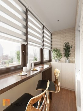The best mini bar design ideas in balcony apartment 29